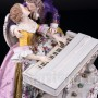 Фарфорвая статуэтка Пара у клавесина, Германия, 19 в.