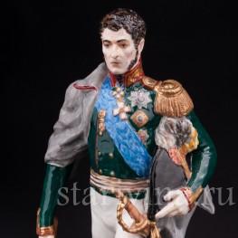 Коллекционная фарфоровая статуэтка Русский генерал П.И. Багратион, Россия,, совр.