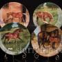 Декоративная фарфоровая тарелка Прибавление, Royal Worcester, Великобритания, 1991 г.